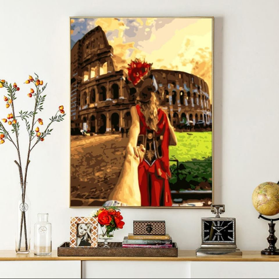 Love in Rome   Paint by Numbers