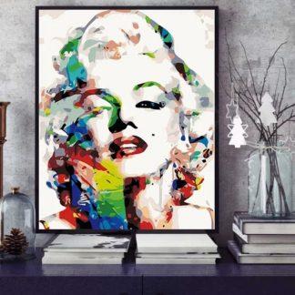 Marilyn Monroe | Paint by Numbers