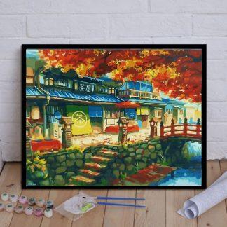 Autumn Tea house