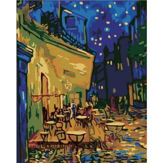 Vincent van Gogh Cafe Terrace at Night