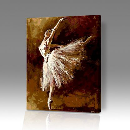 Ballet Dancer - Paint by Numbers Malaysia
