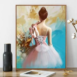 Back of Ballet Dancer