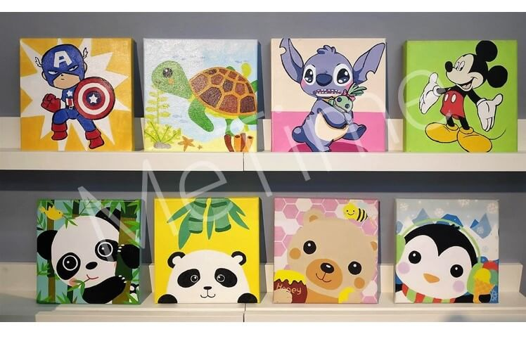 2020 Small Paint By Numbers Kits for Kids