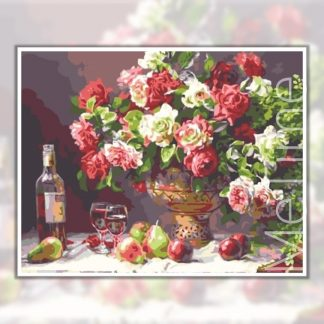 Flowers wine
