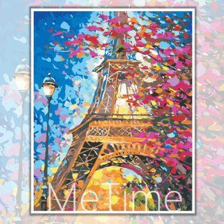 Eiffel Tower Flowers