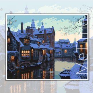 Bruges Canal Belgium