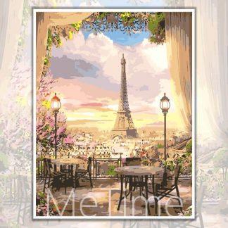 Cafe at Paris Eiffel Tower