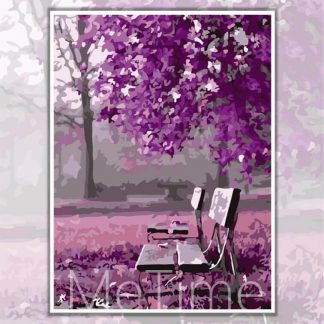 Romantic Purple Tree