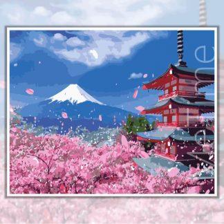 Sakura Mount Fuji