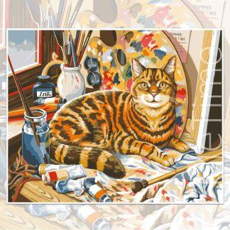 Painter Cat