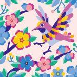 Bird flower MT018